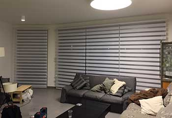 Motorized Roller Shades Project | Beverly Hills Blinds & Shades, LA