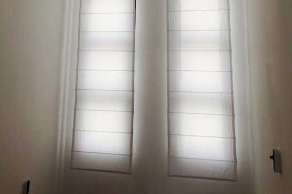 Roman Shades | Beverly Hills Blinds & Shades
